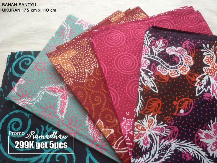promo batik tulis madura 5pcs  ukuran 175cm x 110cm minat? www.tabinaco.net