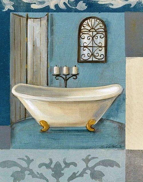 The 189 best Vintage Bathrooms images on Pinterest   Vintage ...