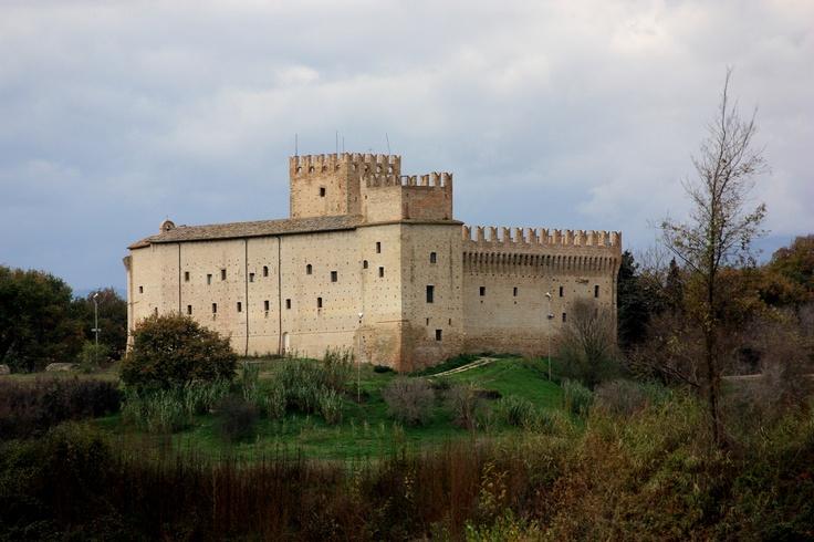 Castello della Rancia, Tolentino, Marches, Italy