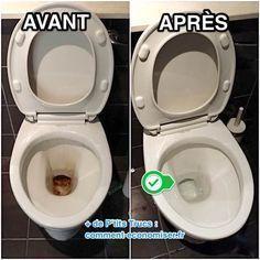 L'Astuce Super Efficace Pour Décrasser La Cuvette des WC Sans Effort.