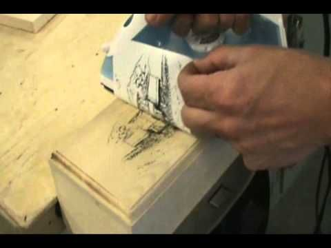 Iron Transfer Patterns for Pyrography