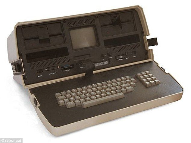 the first laptop, Osborne 1. 1981