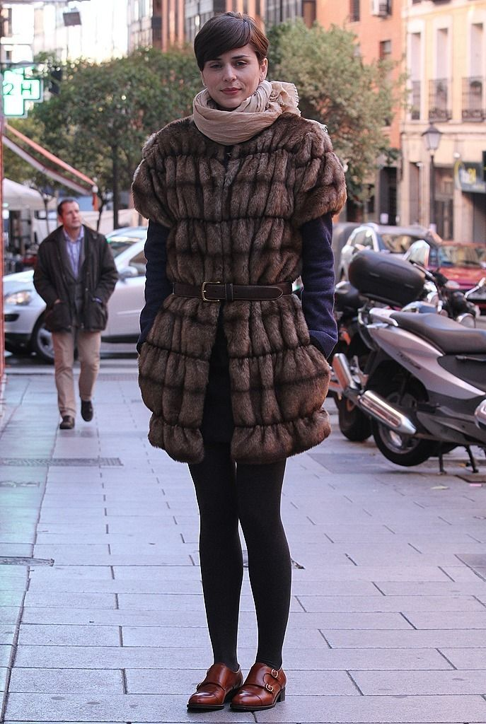 Fur look