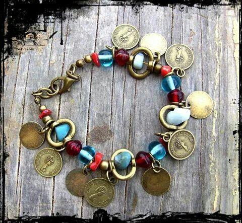#pulsera #bracelet #diseñohechoenchile #diseñohechoamano #bohodesign #bohemiandesign #hippiechic #handmadejewelry