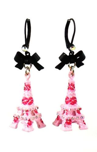 Betsey Johnson Jewelry Paris Is A Good Idea Eiffel Tower Earrings New 2013