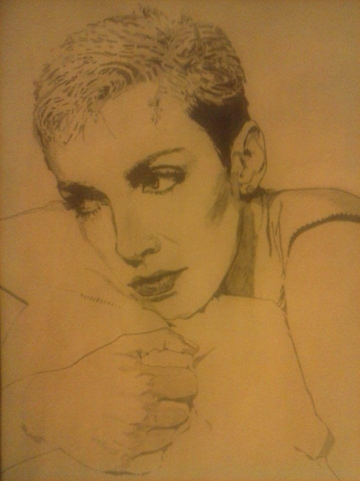 Annie Lennox Artist : Jackie Bateman