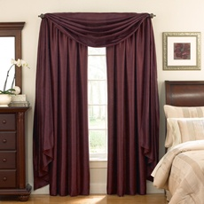 Astoria Sound Asleep™ Room Darkening Window Curtain Thermaliner™ Panels - Front window?