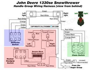 best 20 john deere snowblower ideas on pinterest john deere John Deere 4020 Wiring Harness john deere 1330se snowblower wiring harness for the handle group john deere 4020 wiring harness