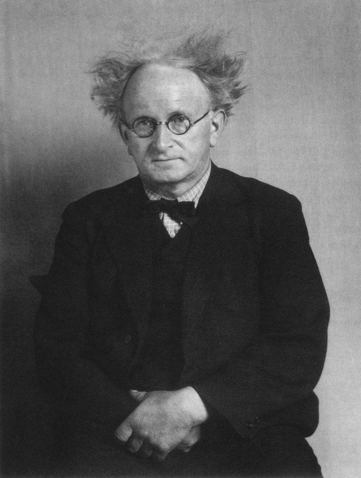 August Sander, The Architect (Hans Poelzig), 1928 | August