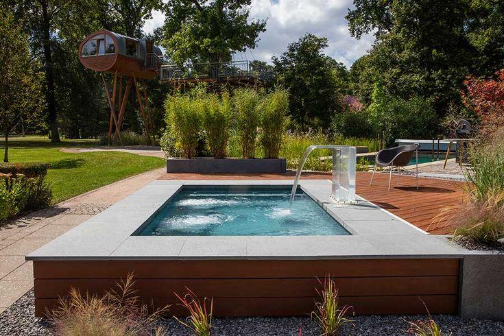 die besten 25 pool im garten ideen auf pinterest pool gartenbau landschaftsbau tipps und. Black Bedroom Furniture Sets. Home Design Ideas