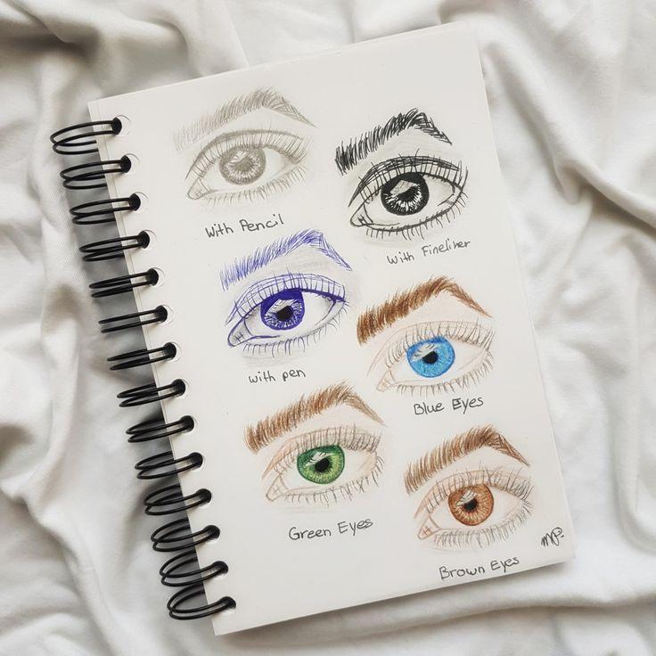 Eyes in different ways.