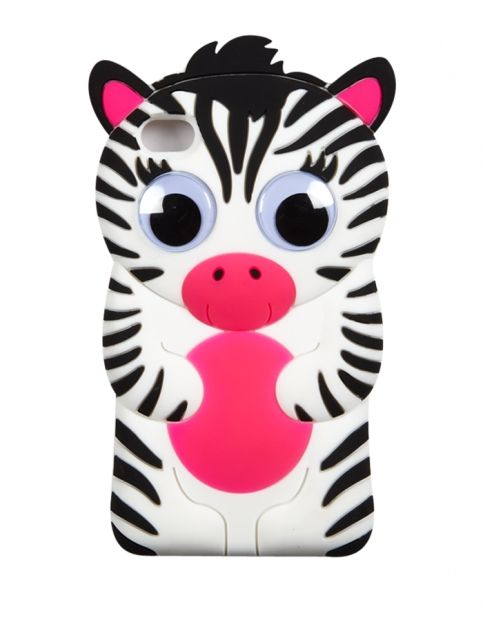 Silicone Zebra Tech Case 4 | Girls Cases & More Tech Accessories | Shop Justice