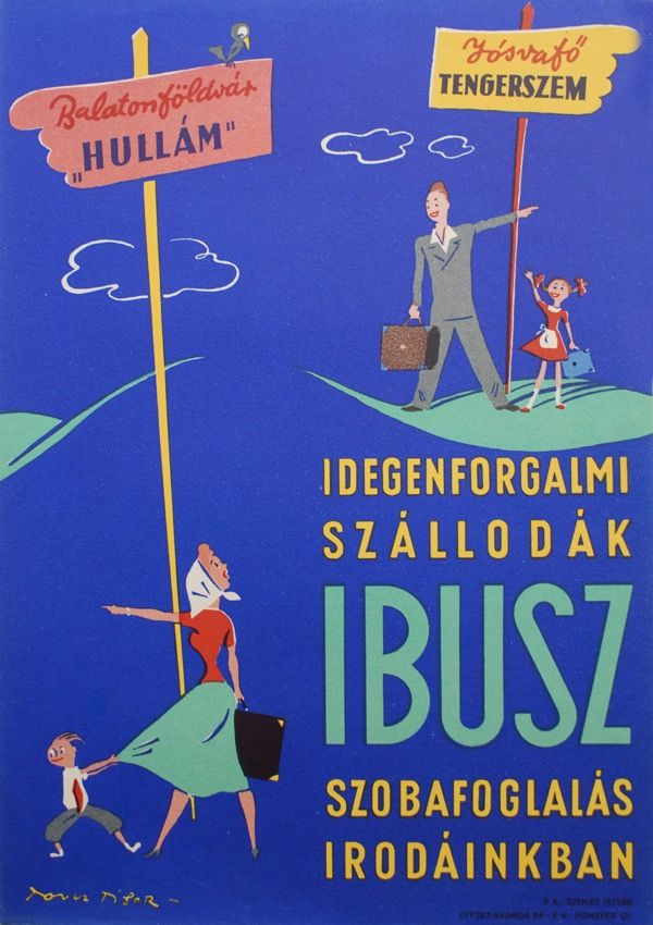 Balaton retro 20plakat1 poszter hirdetes BALATON.travel