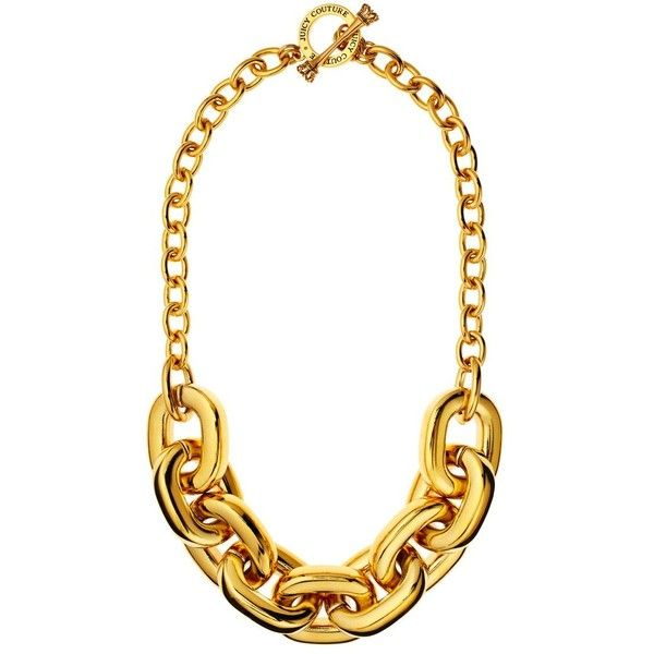 Chunky Link Necklace ($98) ❤ liked on Polyvore