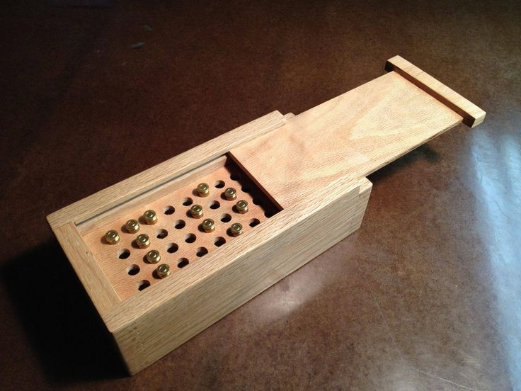Wooden ammo box diy projects pinterest ammo boxes for Free money to build a house