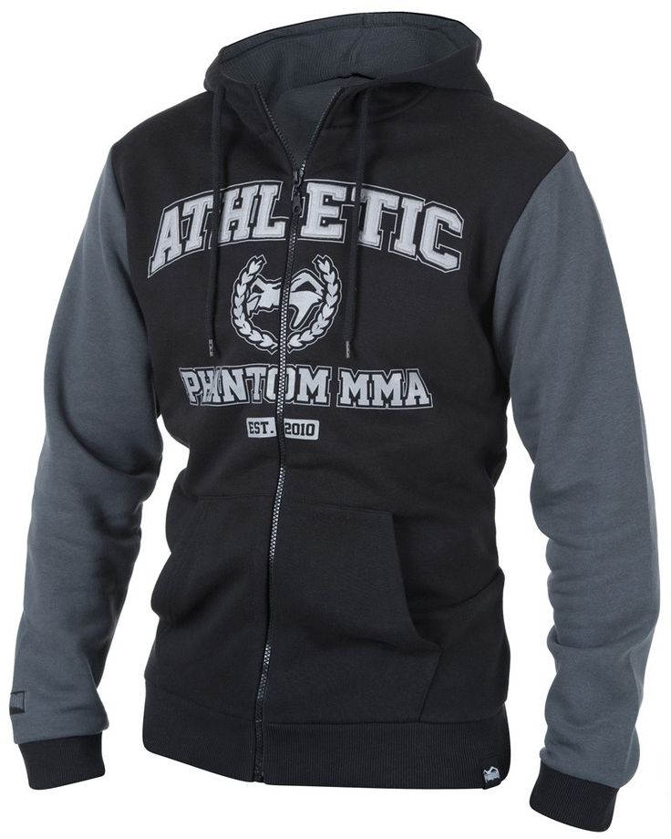 """Phantom MMA Hoodie """"Athletic Zip"""""""
