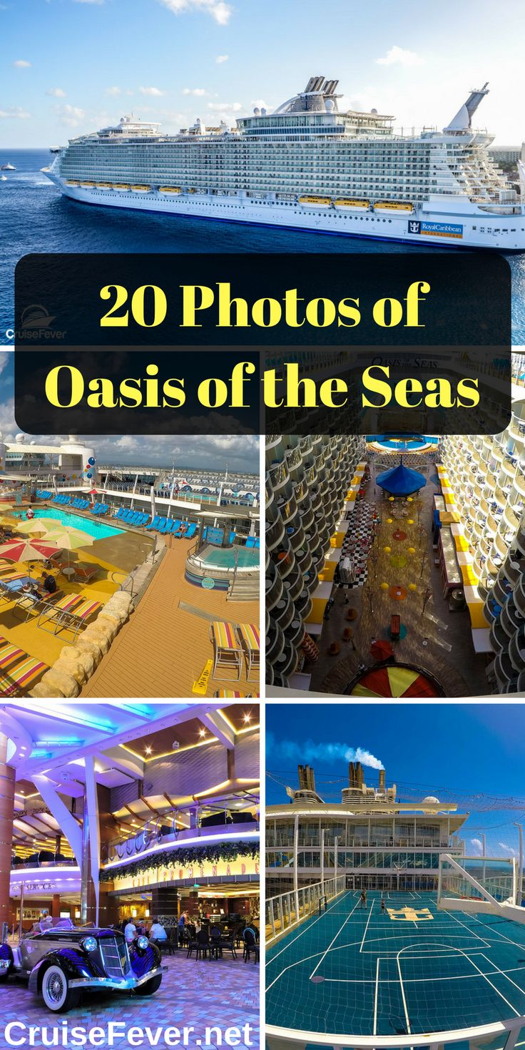 Holding over 6,000 passengers at maximum occupancy, Oasis of the Seas  brought new features to the cruise industry like the incredible  Boardwalk and Central Park neighborhoods.  Check out 20 great photos of the cruise ship that changed cruising. - Cruise Fever