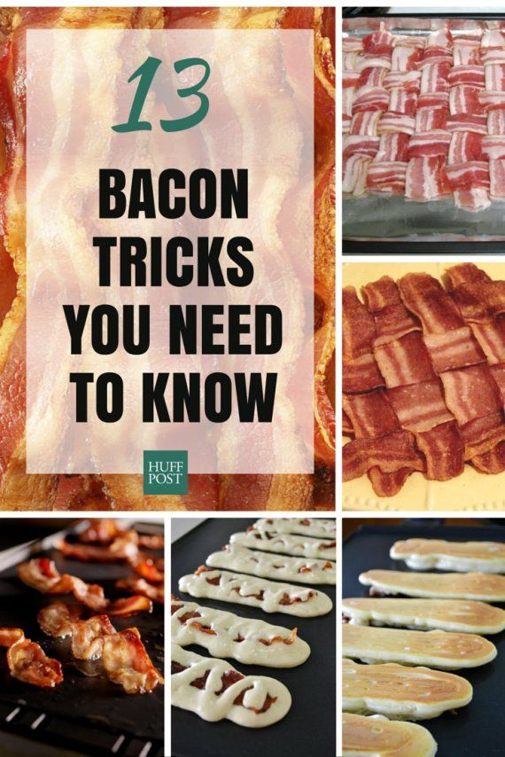 Check out these ingenious ways to cook bacon and live your best bacon life!