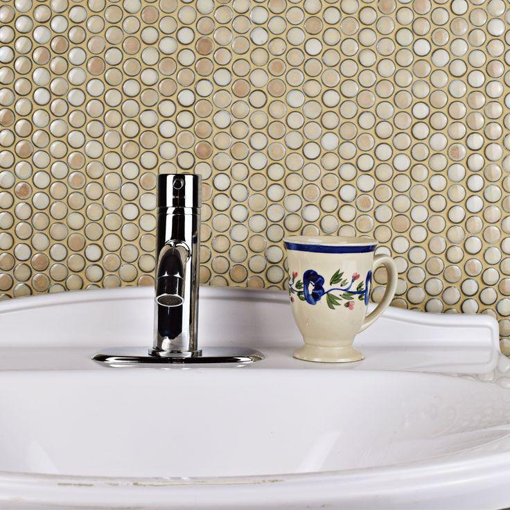 Best 25 Beige Tile Bathroom Ideas On Pinterest: Best 25+ Penny Round Tiles Ideas On Pinterest