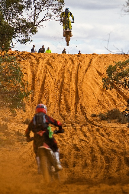 The Hattah Desert Race in Australia is one of the toughest off-road races. I will do this one day.