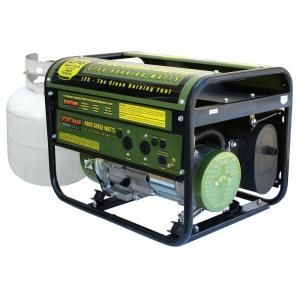 Sportsman 4,000-Watt Clean Burning LPG Portable Propane Generator-GEN4000LP at The Home Depot $370