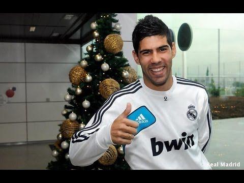 Video Saludo navideño de Álvaro López capitán del Real Madrid C