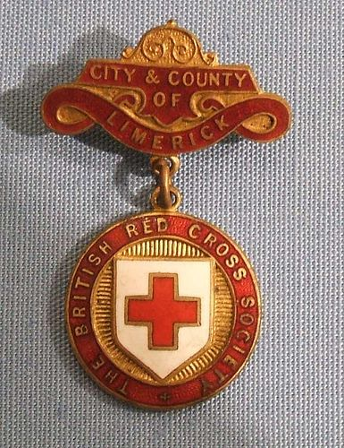 City & County of Limerick British Red Cross - county/branch badge