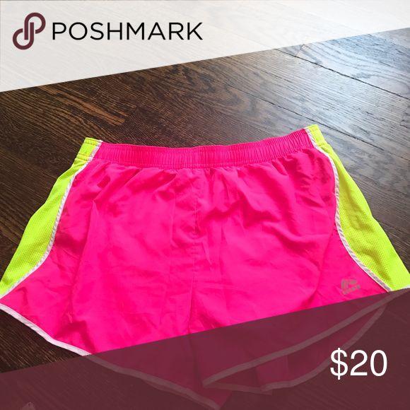 RBX Running Shorts Pink and Neon Running Shorts RBX Shorts