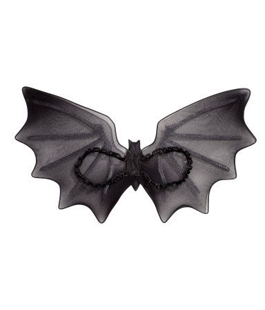 Vleugels en toverstaf | Zwart/vleermuis | Kinderen | H&M NL