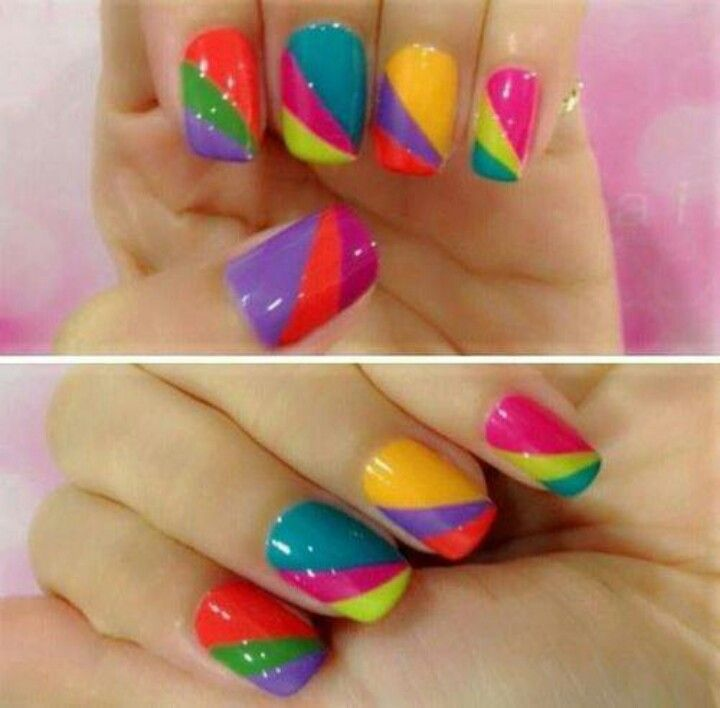 358 best nails for summer images on pinterest nail designs nails summer nails diy manicure prinsesfo Image collections