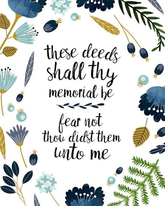 LDS Hymn Printable art