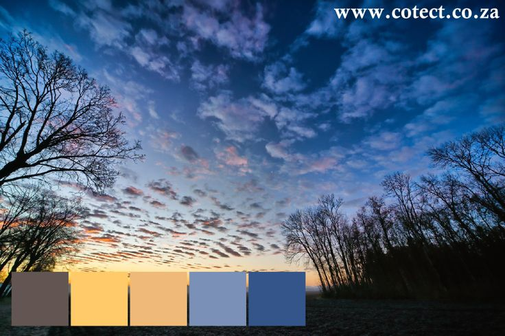 It might be cold but winter is the perfect time to #paint your home if you are living in and around Gauteng. We take inspiration from the beautiful sunsets for choosing #colours.