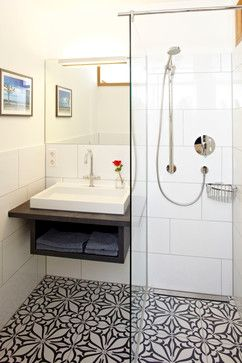 vacation rental W1 contemporary-bathroom