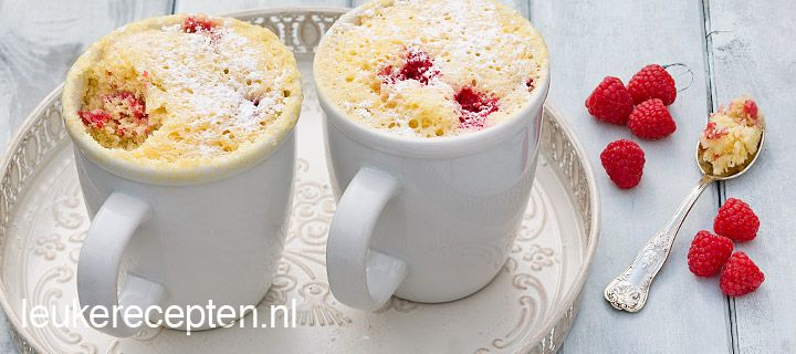 cake in mok // super easy! Cake in a mug. 2 minutes only..great for high tea or...