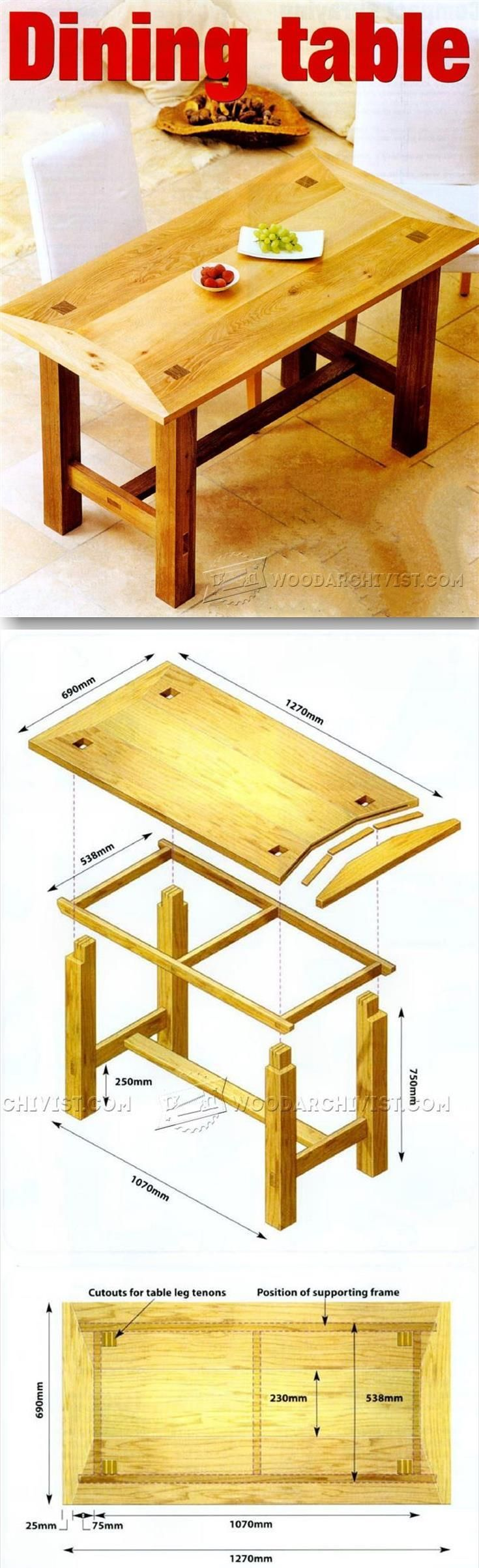 Free Woodworking Furniture Plans 746 Best Diy Wood Designs Images On Pinterest Woodwork Projects