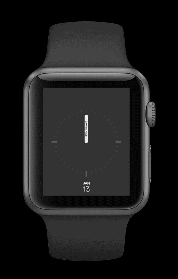 Apple Watch face concept  Watch