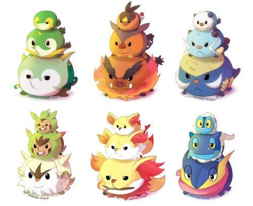 Pokemon Starters Tsum Tsum - Irene Lee