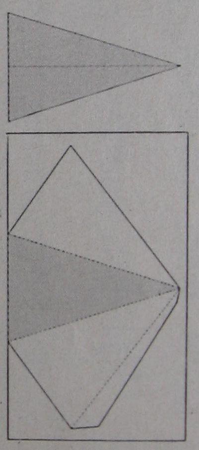 piramide menukaart zelf maken