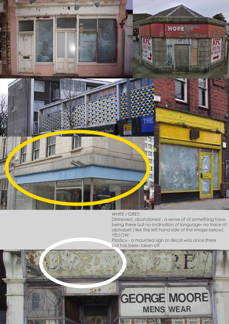 Shop fascia finish - paint
