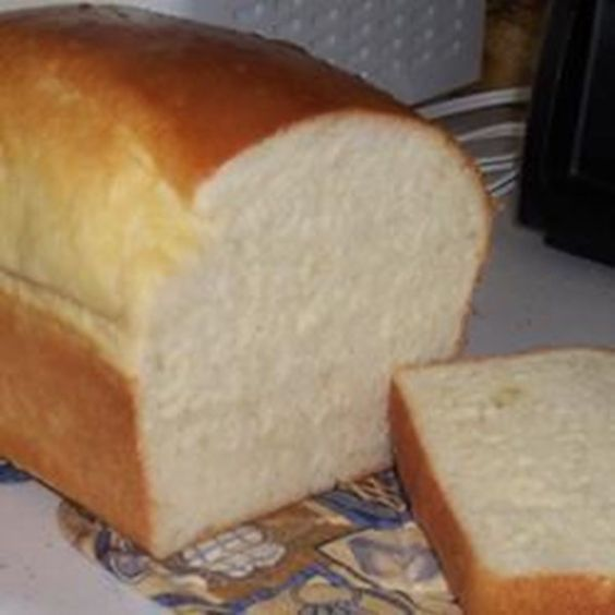 "Ron's Bread Machine White | ""This is the best bread machine recipe ever!! It actually tastes like my Grandma's homemade bread. I was so impressed."""