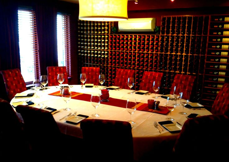 Tucci's Private dining room