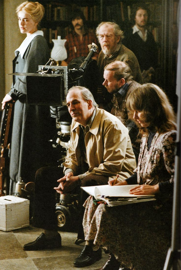 Set of Fanny and Alexander. Director: Ingmar Bergman.