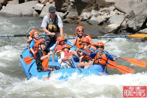 White Water Rafting with RaftEcho! What To Do In Colorado Springs: A 5-Day Itinerary! - Great Family Road Trips!