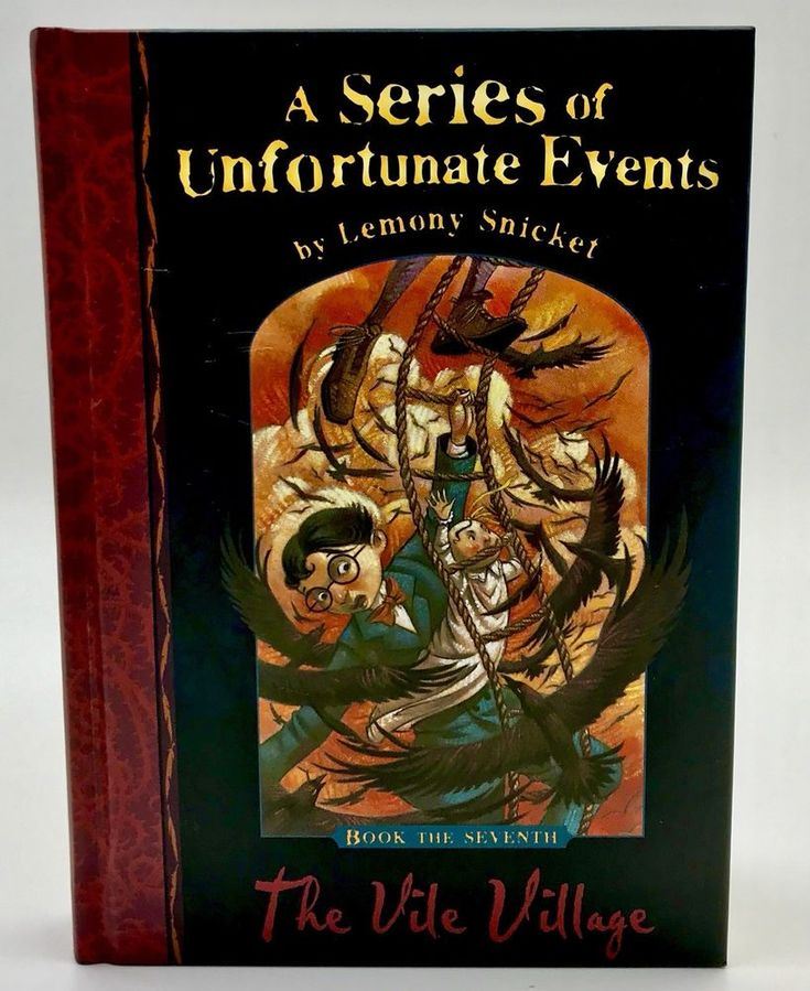The Vile Village A Series of Unfortunate Events Lemony Snicket 7th Book Hardback