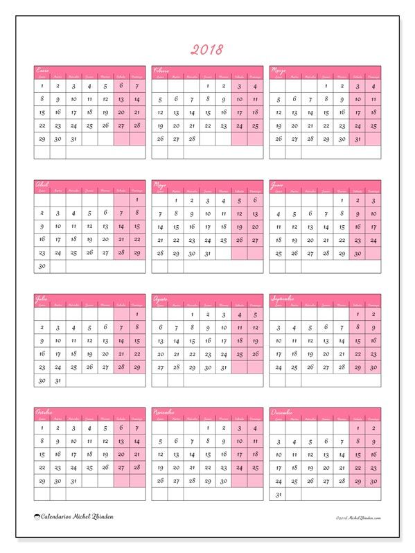 M s de 25 ideas incre bles sobre calendario 2018 en - Ideas para hacer un calendario ...