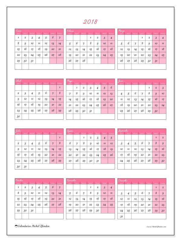 Las 25 Mejores Ideas Sobre Calendario 2018 En Pinterest