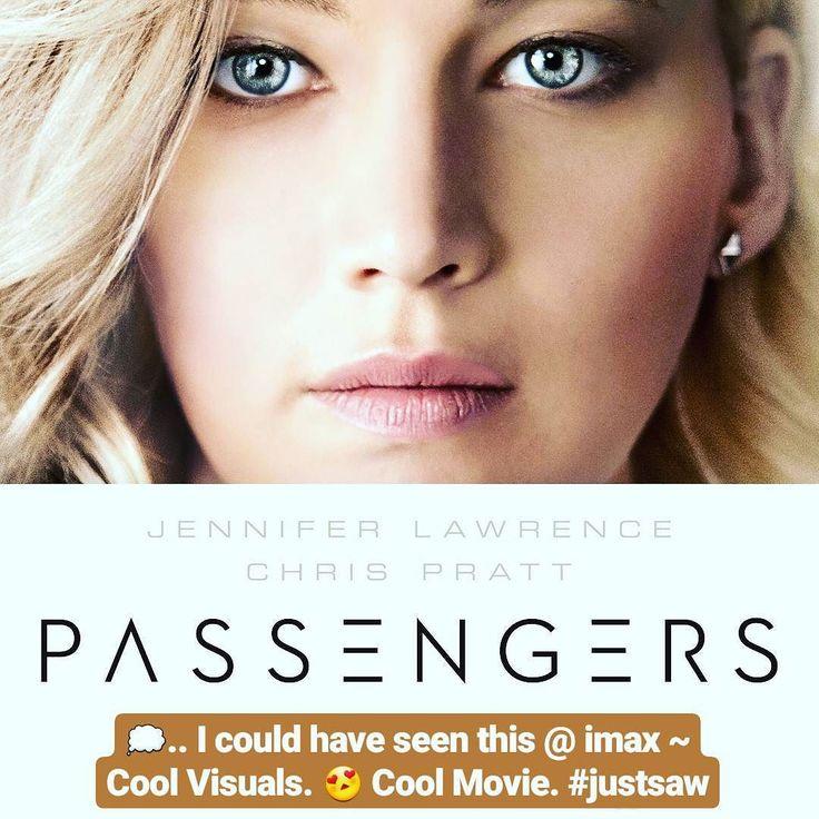 Cool movie.  #passengersmovie  #movietime #movies #movie #movienight #moviegram #movieday #rottentomatoes #imdb #moviegeek #moviegoers #moviereview #moviereviews #movies #moviemarathon #netflixandchill #netflix #hulu #amazonprime #scifi #spacemovie #spacetravel #moviestarplanet #movies #watchingnow #passengers #jenniferlawrence #jlaw #chrispratt #gaurdiansofthegalaxy