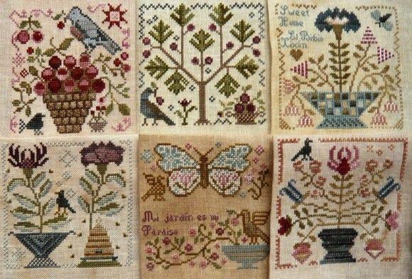 Garden Club series Blackbird Designs