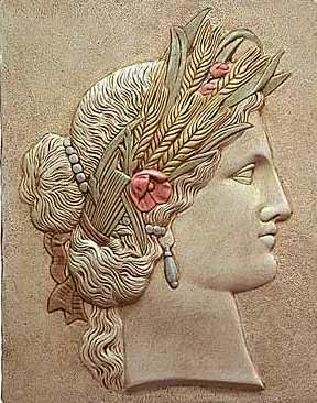Ceres, Roman Goddess of Grain and Fertility