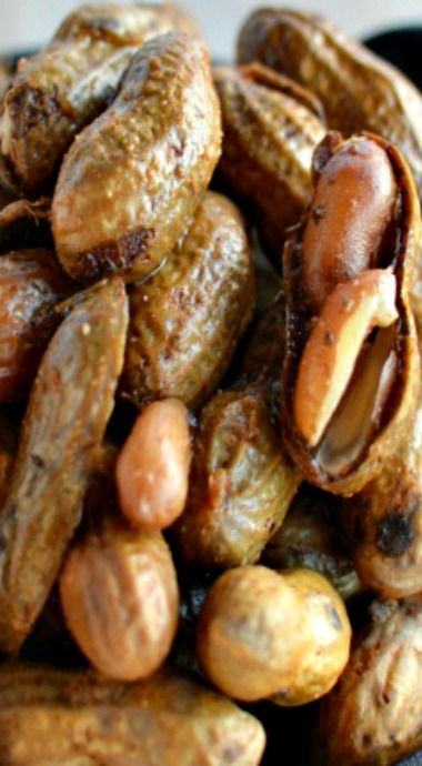 Spicy Cajun Boiled Peanuts